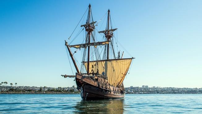 san salvador tall ship morro bay